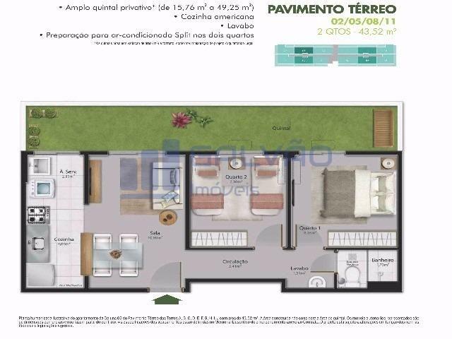 MR-2Q em Residêncial Centro da Serra, Financiamento MCMV e Entrada Super Facilitada!!! - Foto 16