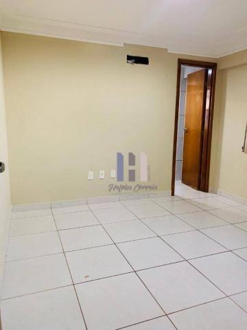 Apartamento com 3 dormitórios para alugar, 101 m² por r$ 2.800,00 - alecrim - natal/rn - Foto 9