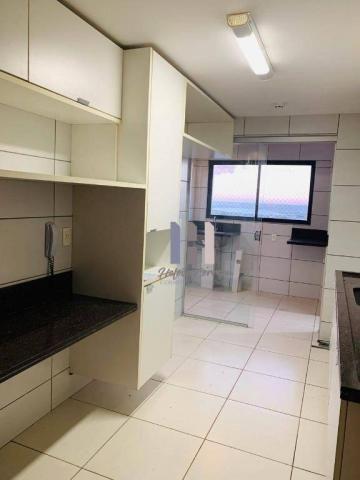 Apartamento com 3 dormitórios para alugar, 101 m² por r$ 2.800,00 - alecrim - natal/rn - Foto 16