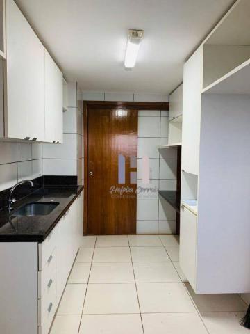 Apartamento com 3 dormitórios para alugar, 101 m² por r$ 2.800,00 - alecrim - natal/rn - Foto 17