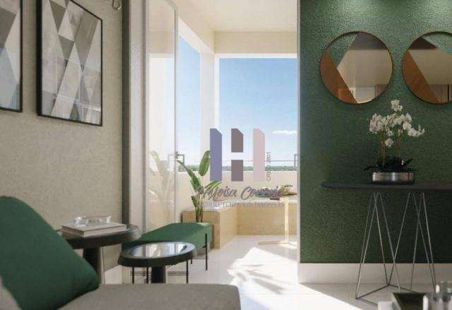 Apartamento com 2 dormitórios à venda, 48 m² por R$ 148.000 - Pium (Distrito Litoral) - Pa