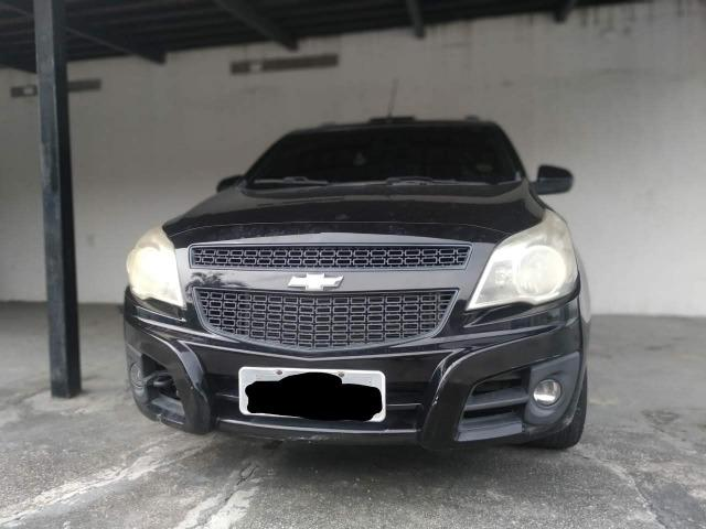 Chevrolet Montana Sport 1.4 Cor Preta Completa 2011/2011 - Foto 2