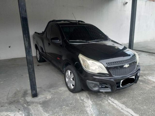 Chevrolet Montana Sport 1.4 Cor Preta Completa 2011/2011
