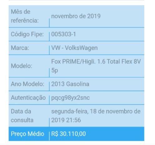 Vw FOX Prime 2012/2013 1.6 Preto IPVA 2020 Pago - Foto 6