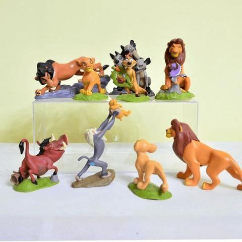 Kit Rei Leão Simba Timão Pumba Mufasa Kit C9 Pronta Entrega - Foto 3