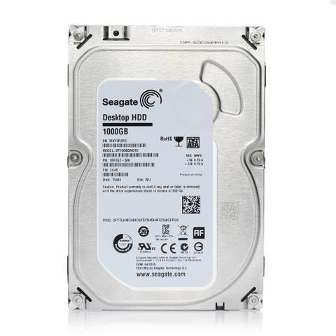 1TB Seagate HD para PC ou DVR, Novo, lacrado, original, com garantia, entregamos sem taxa