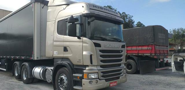Vendo scania highline 2013 6x2 automática - Foto 4