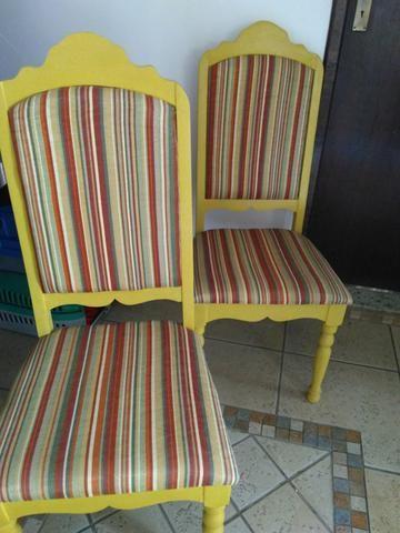 Cadeira antiga restaurada