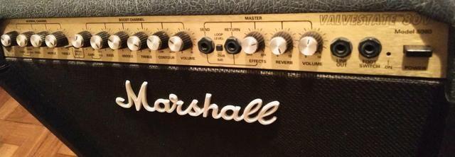 Amplificador de guitarra Marshall Valvestate 8080 - Foto 3