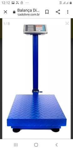 Balança 300kg plataforma - Foto 2