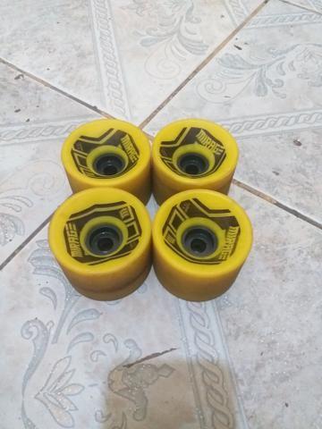 (R$:50) longboard rodas mirage