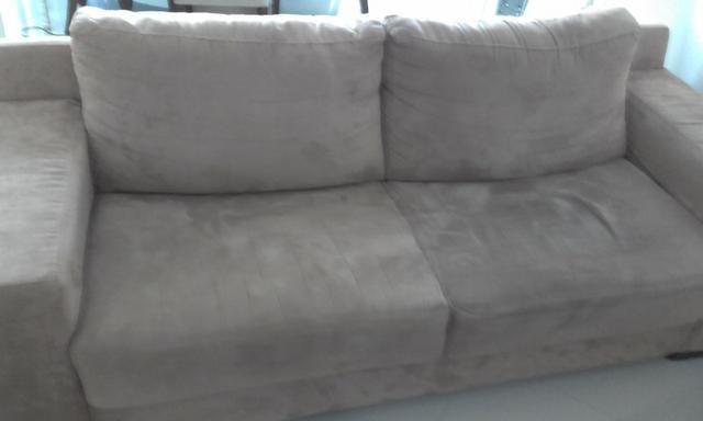 Sofá grande semi novo - Foto 4