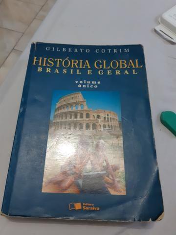 História Global Brasil e geral- Gilberto Cotrim