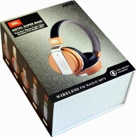 Fone De Ouvido Jb-55 Wireless Bluetooth Headset Sem Fio Mp3 sd - Foto 2