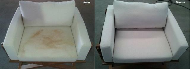 Higienização de sofás, poltrona, cadeiras - Foto 2