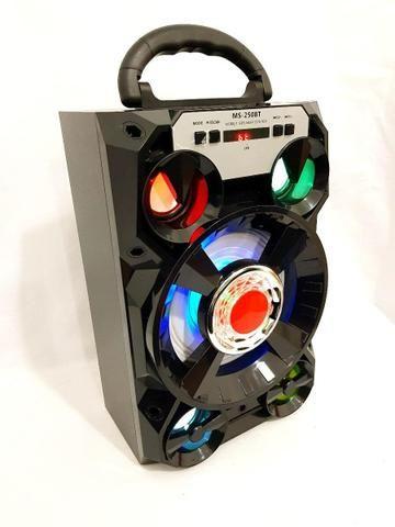 Caixa de Som 5 Alto-falantes Bluetooth Portatil Amplificada