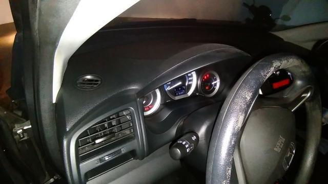 Honda City - 2013 - LX - Cinza - Aut. - GNV 5ª ger. 16 m3 - completo - 77 mil rodados - Foto 9