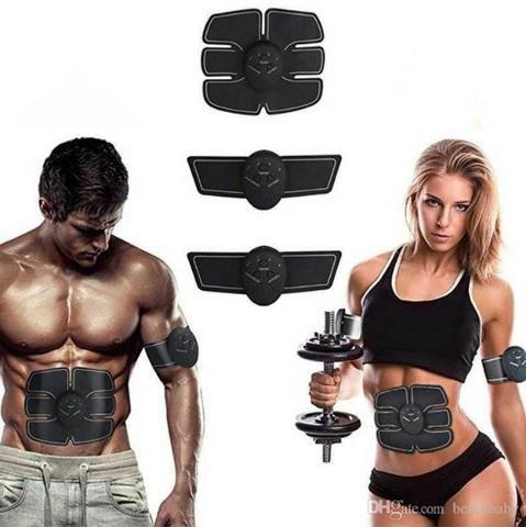 Promoção Ems Cinto Estimulador Muscular Aparelho Abdominal e braços