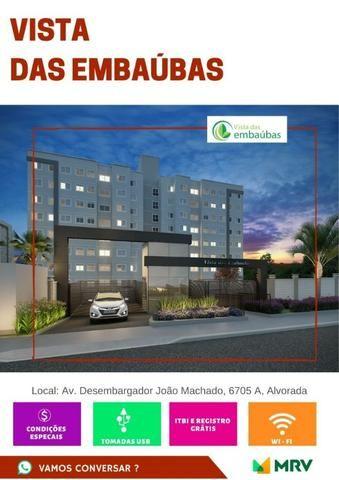 Lançamento MRV Embaubas Planalto 41m² 1Qto 1 vaga R$ 184.300,00