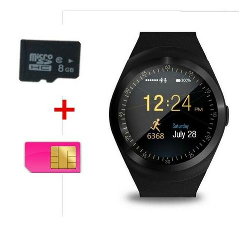 Relógio Bluetooth Smart Watch Y1 Android E Ios Tomate Tr02 - Foto 4