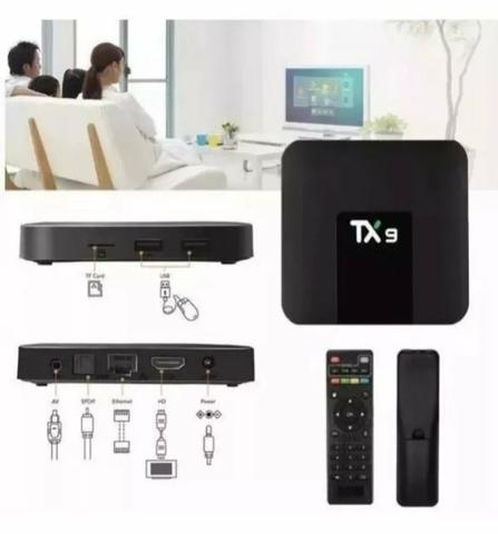 Conversor smart tv tx9 3gb ram e 32 GB rom - Foto 2