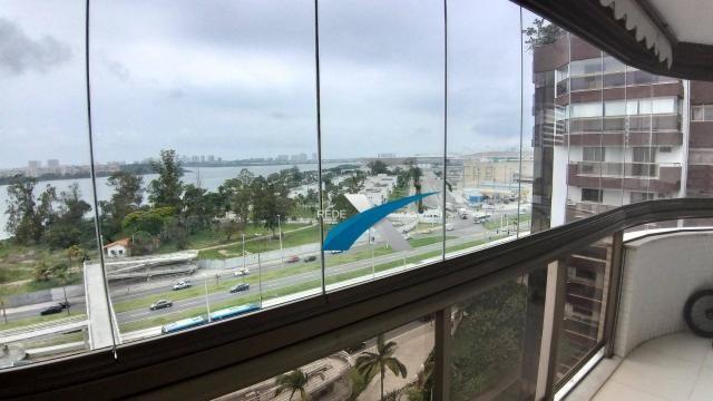 Barra da tijuca. rio2. apartamento com 4 dormitórios à venda, 147 m² por r$ 1.150.000 - ba - Foto 2