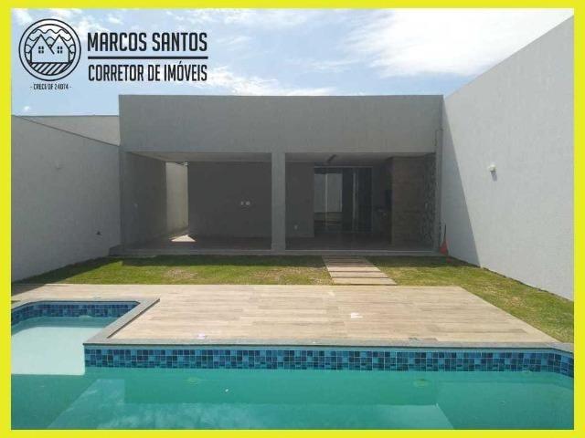 Linda casa nova moderna de alto padrão em rua 06 Vicente Pires