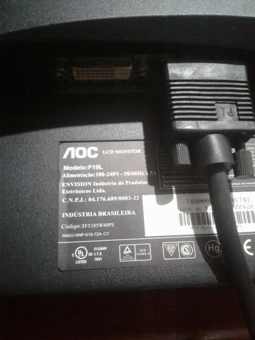 Monitor 19 AOC - Parcelo - Foto 2