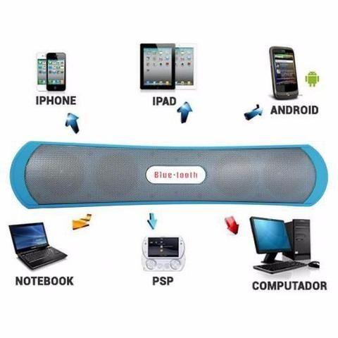 Caixa de Som Grasep Subwoofer Bluetooth Android - Foto 2