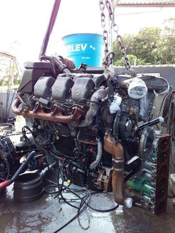 Motor MB Actros V6 2011 - Foto 2