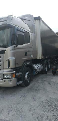 Vendo scania highline 2013 6x2 automática