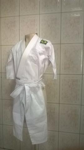 Kimono MOO Branco (03 a 04 anos idade) produtos novos e embalados - Foto 2