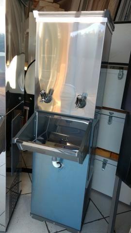 Bebedouro inox industrial 50 litros - Foto 2
