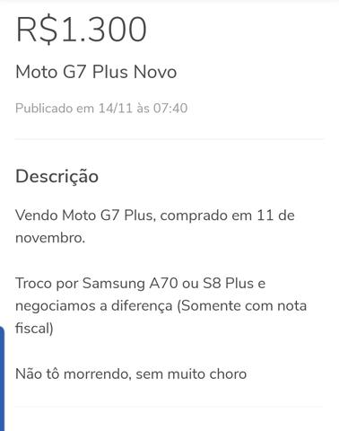 Moto G7 Plus - Foto 3