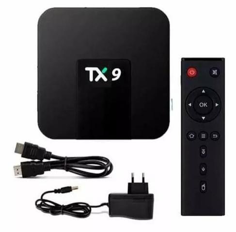 Conversor smart tv tx9 3gb ram e 32 GB rom - Foto 3
