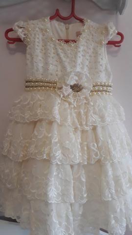 Vestido de Festa Princesa, bordado a mão - Foto 6