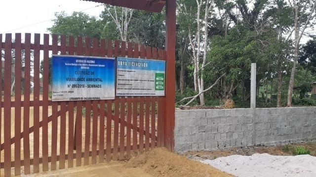 Chácaras do Pupunhal - 100% Legalizado e com Obras Iniciadas )-( - Foto 4