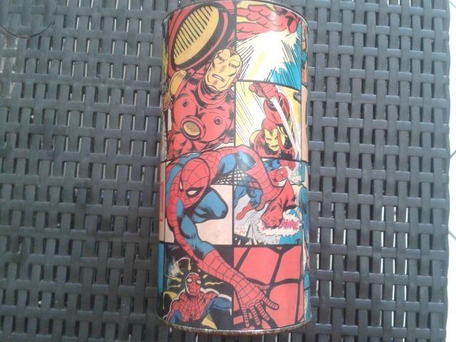 Cofre Vintage Heróis da Marvel - Muito Novo !!! P/ Colecionadores !!! - Foto 3