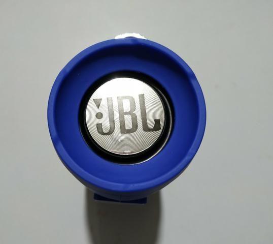 Vendo Jbl Xtreme Mini Nova Azul Ótima Qualidade de Som - Foto 5
