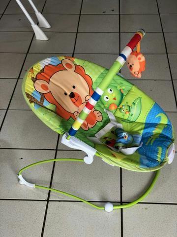 Cadeirinha de descanso com Vibracoes Relaxantes que estimulam seu Bebezinho - Foto 2