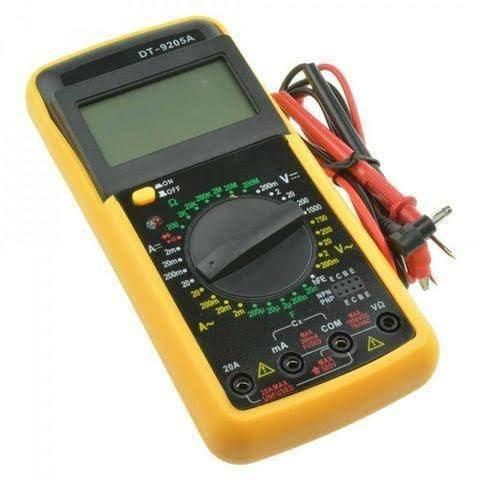 Multímetro digital com capacímetro (aceito cartão) - Foto 4