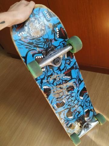 Skate Completo - Ótimas peças!!! - Foto 6