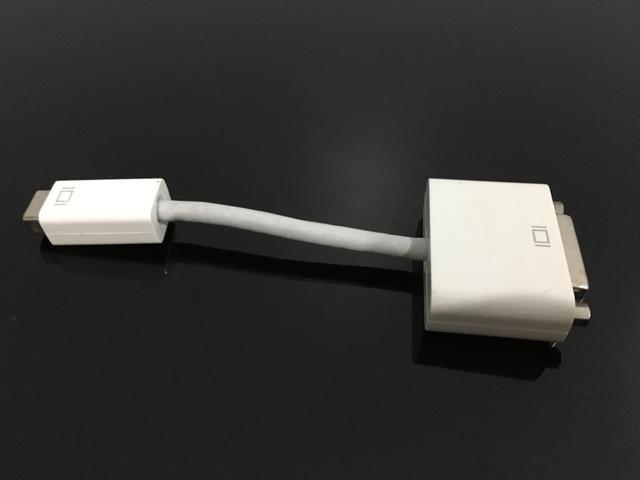 Adaptador Mini Dvi Para Dvi Macbook Original Apple - Foto 2