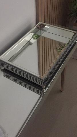 Linda bandeija de aço espelhada - Foto 3