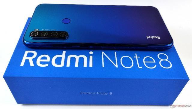 Redmi Note 8 - Neptune Blue - 64gb - Global - Novo-(Loja na Cohab) - Foto 2