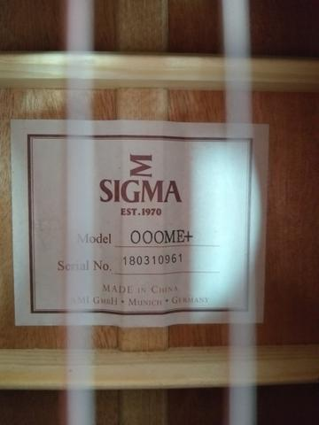 Violão Sigma 000 ME+ - Foto 3