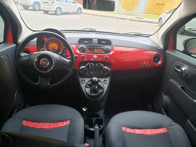 Fiat 500 carro impecável! aceito trocas - Foto 6