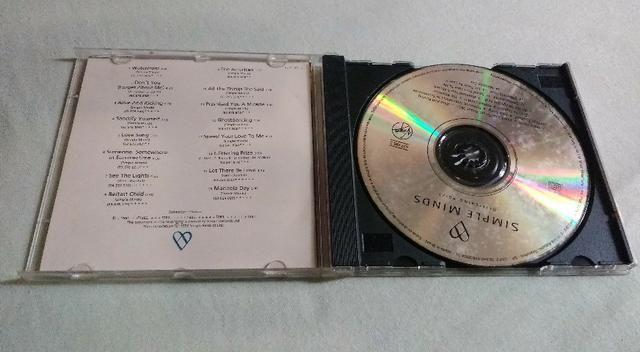 CD Simple Minds - Glitering Prize - Foto 3