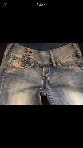 Jeans DIESEL autêntico verdadeiro original feminino DEUSO! 0c35ee8bccbdc