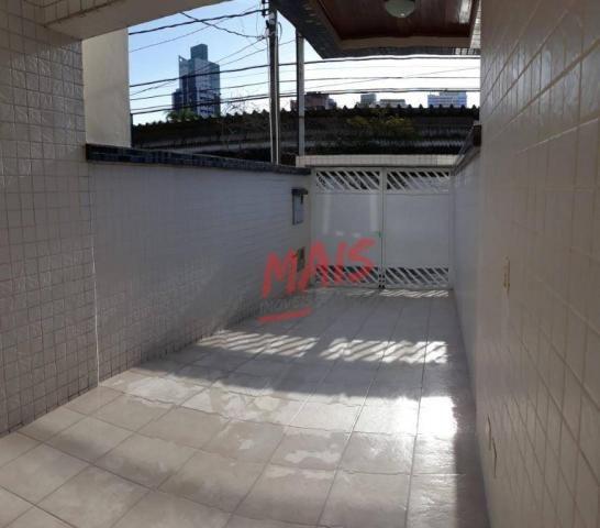 Casa com 3 dormitórios à venda, 105 m² - Ponta da Praia - Santos/SP - Foto 2